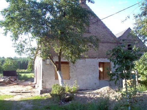 domek przed